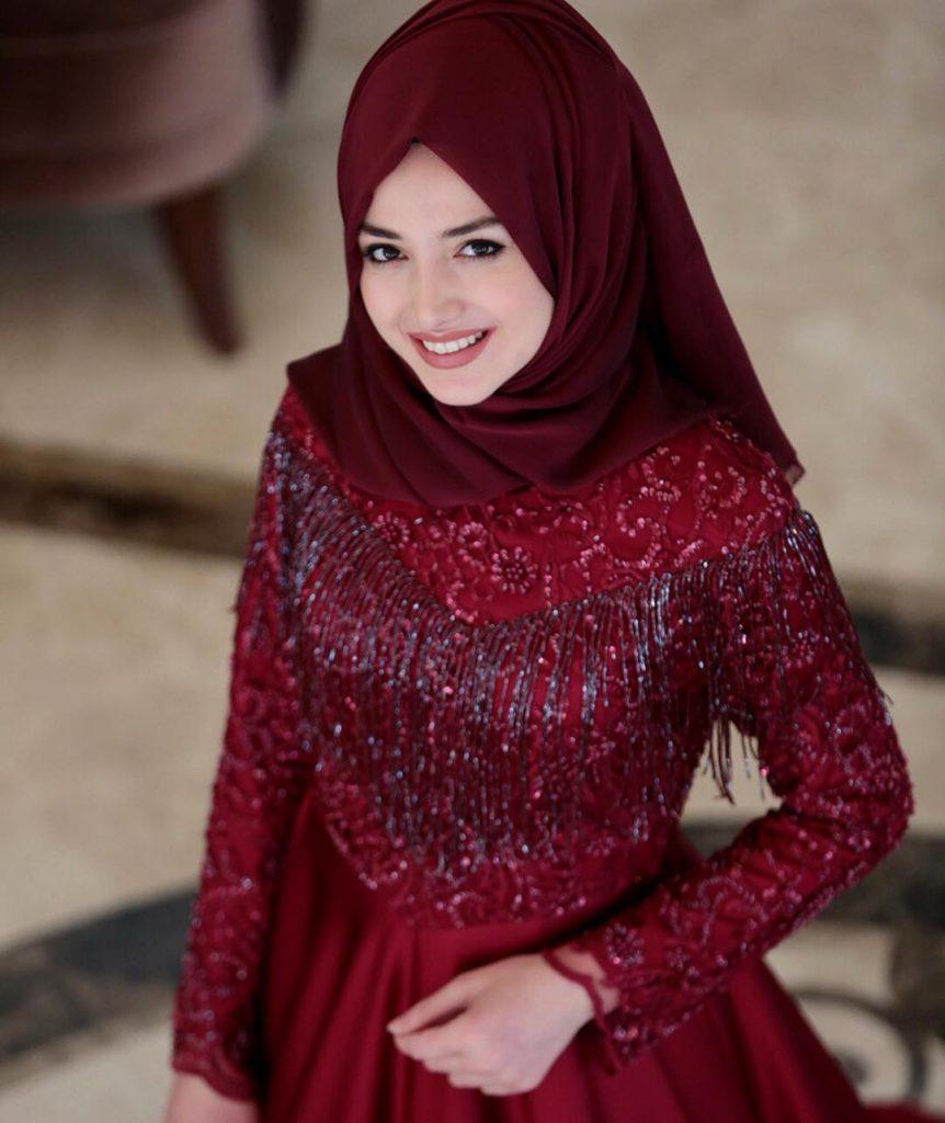 2018 Tesettür Abiye Elbise Modelleri 5 862x1024 - 2018 En Güzel Tesettür Abiye Elbiseleri