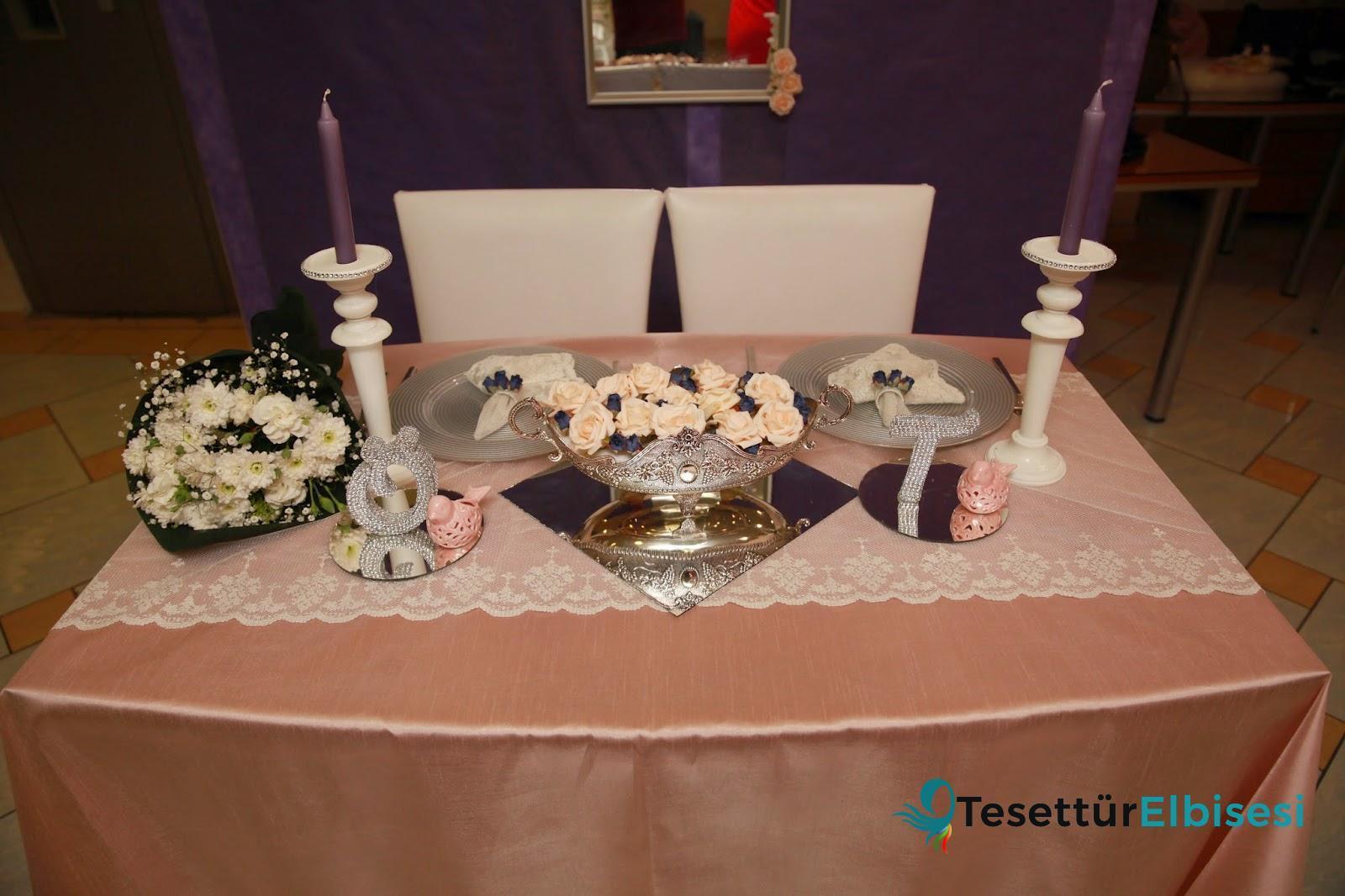 Nişan Masası - Nişan Masası Aksesuarı Nasıl Olmalıdır?