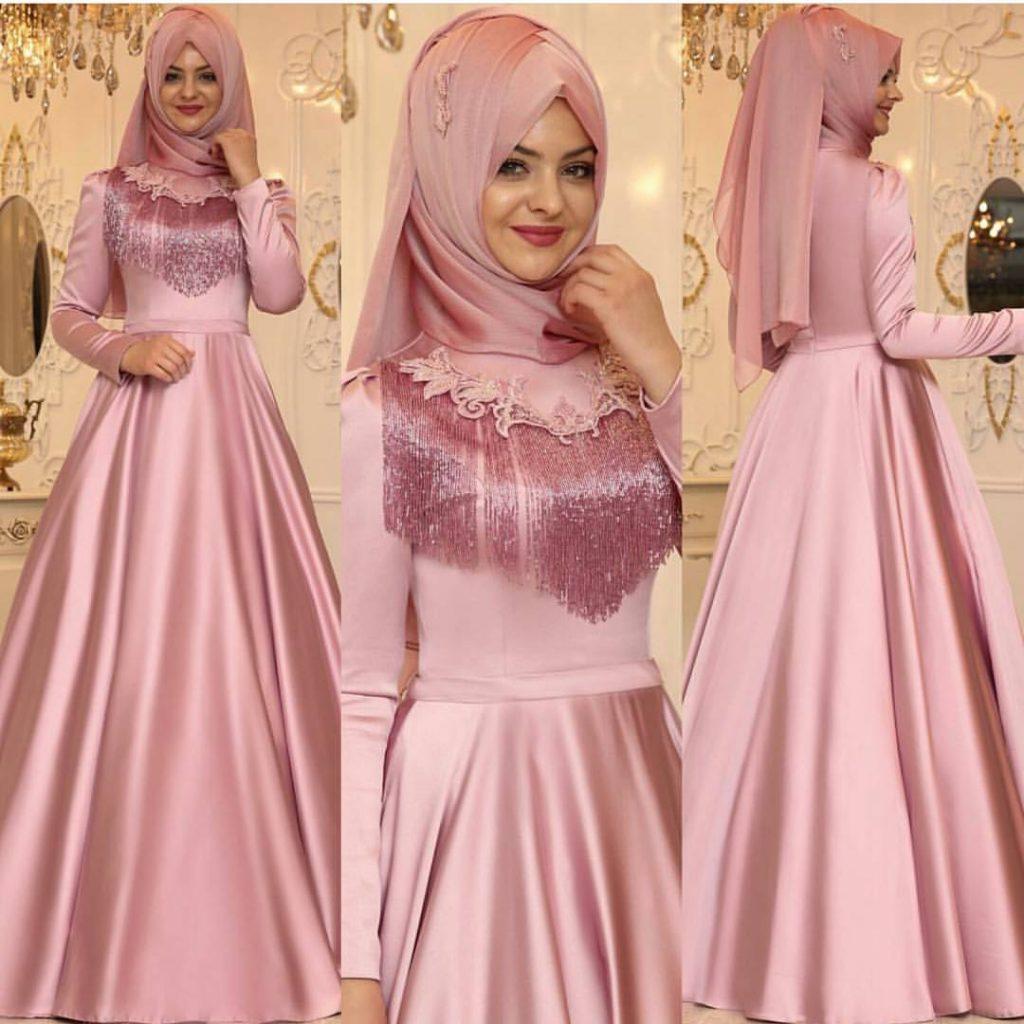 Pinarsems Abiye Modelleri 1 1024x1024 - 2018 En Güzel Tesettür Abiye Elbiseleri