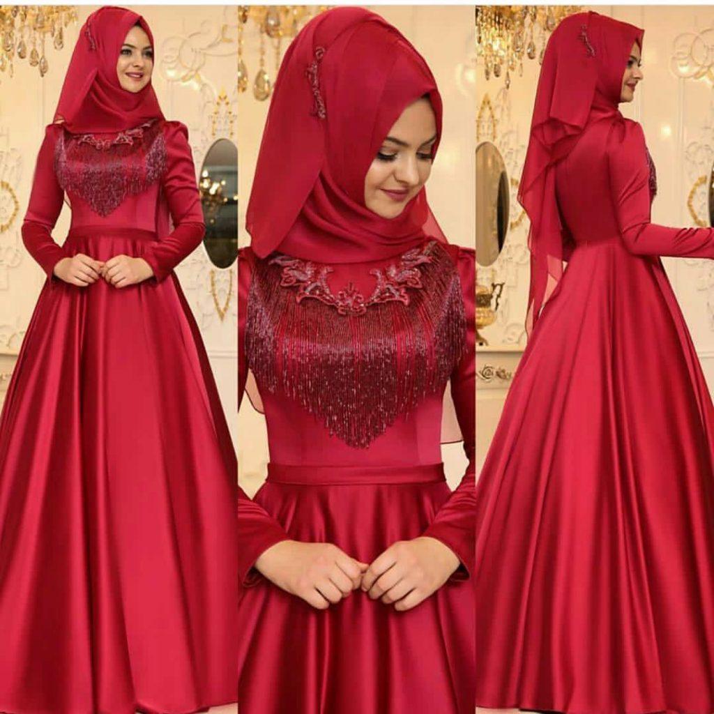 Pinarsems Abiye Modelleri 1024x1024 - 2018 En Güzel Tesettür Abiye Elbiseleri