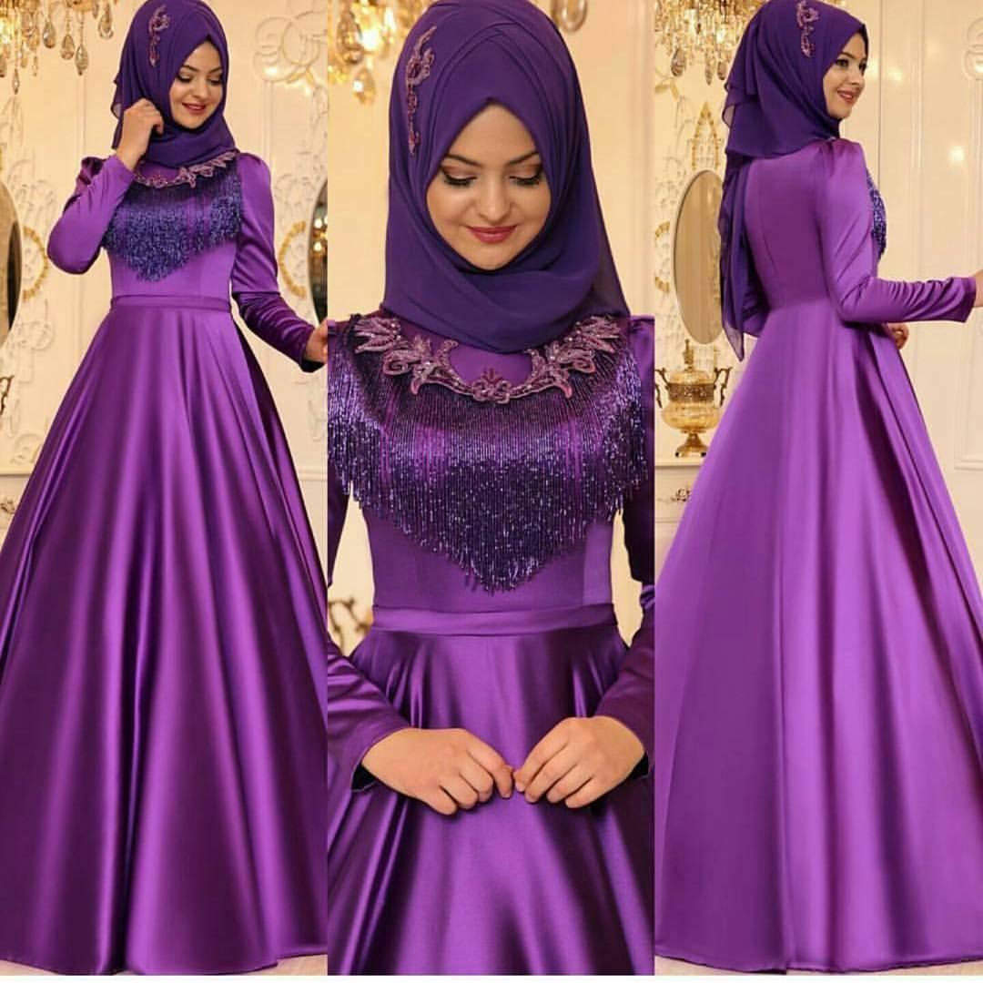 Pinarsems Abiye Modelleri 2 - En Şık Pınar Şems Tesettür Abiye Elbise Modelleri