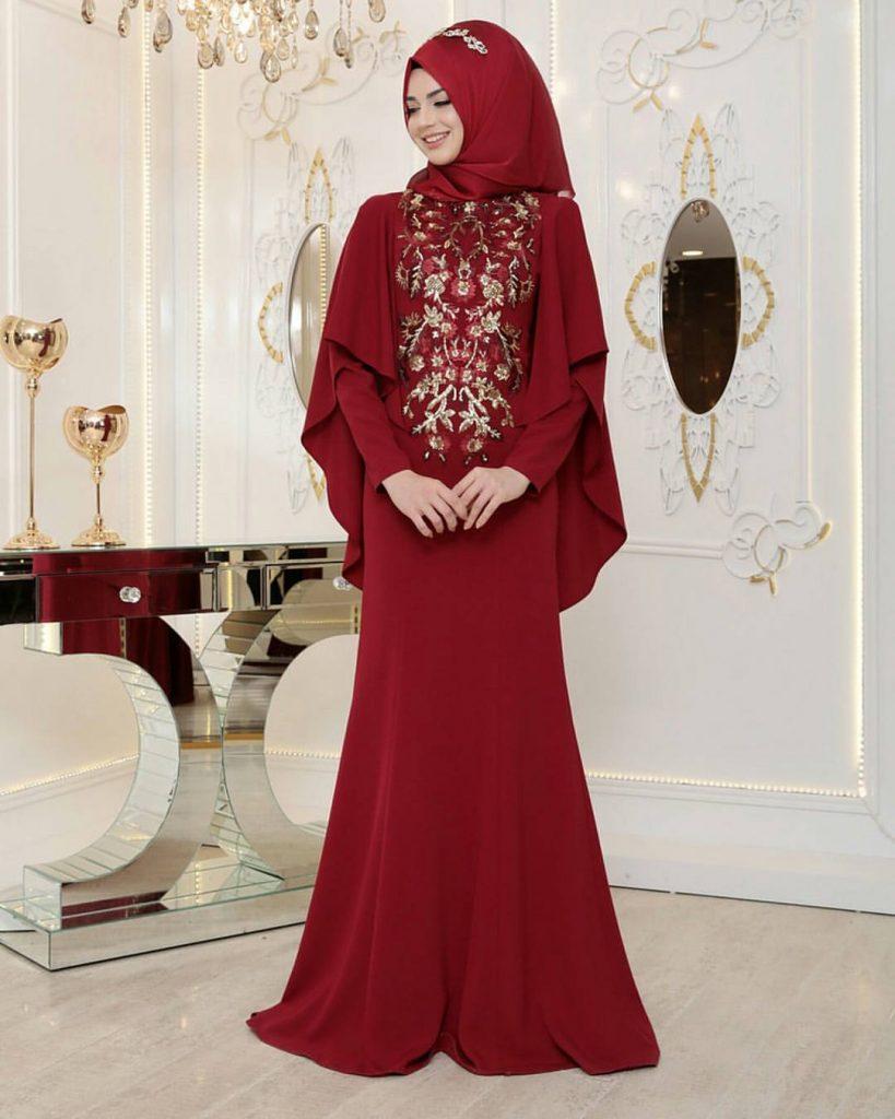 Pinarsems Abiye Modelleri 21 819x1024 - 2018 En Güzel Tesettür Abiye Elbiseleri