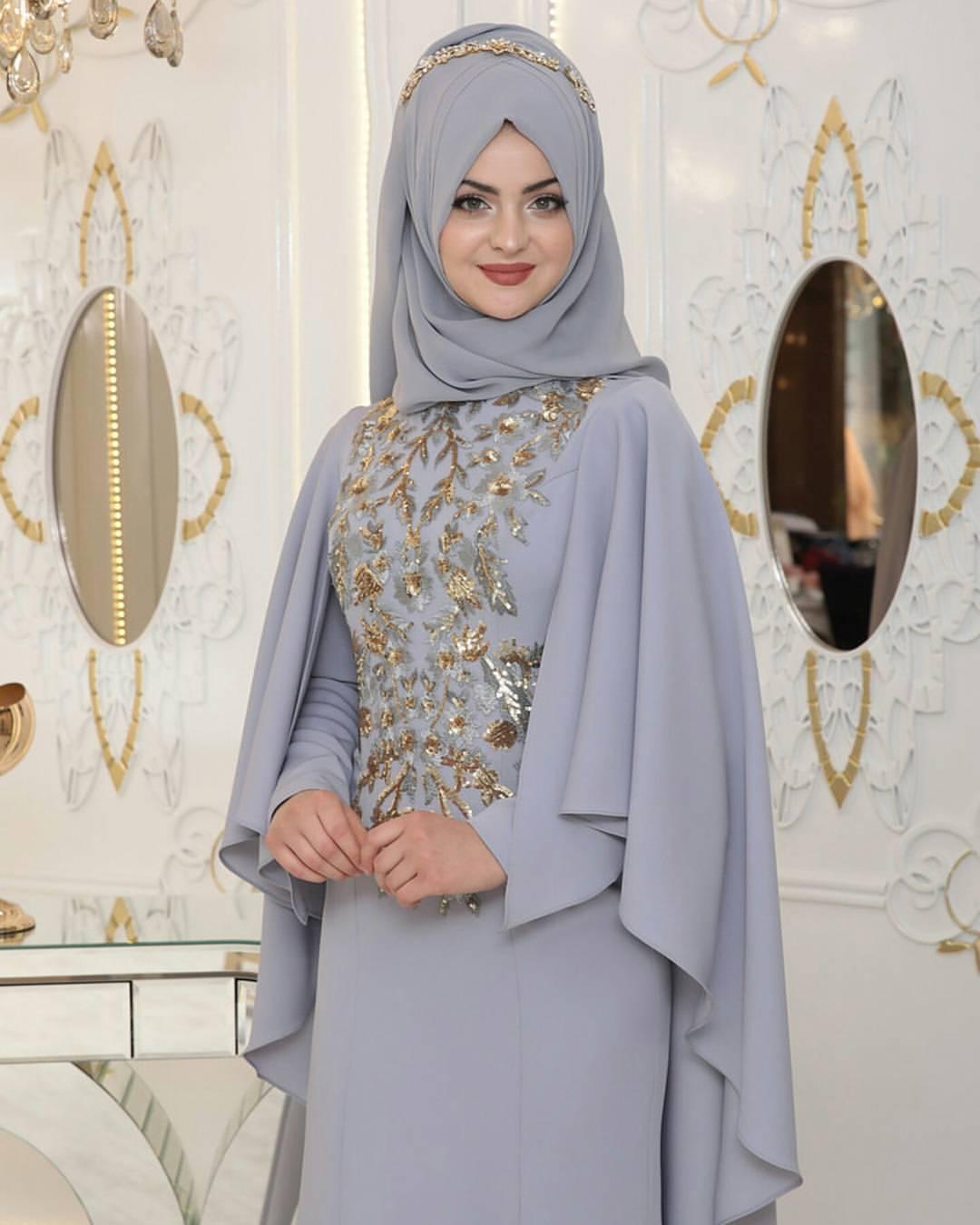 Pinarsems Abiye Modelleri 22 - En Şık Pınar Şems Tesettür Abiye Elbise Modelleri