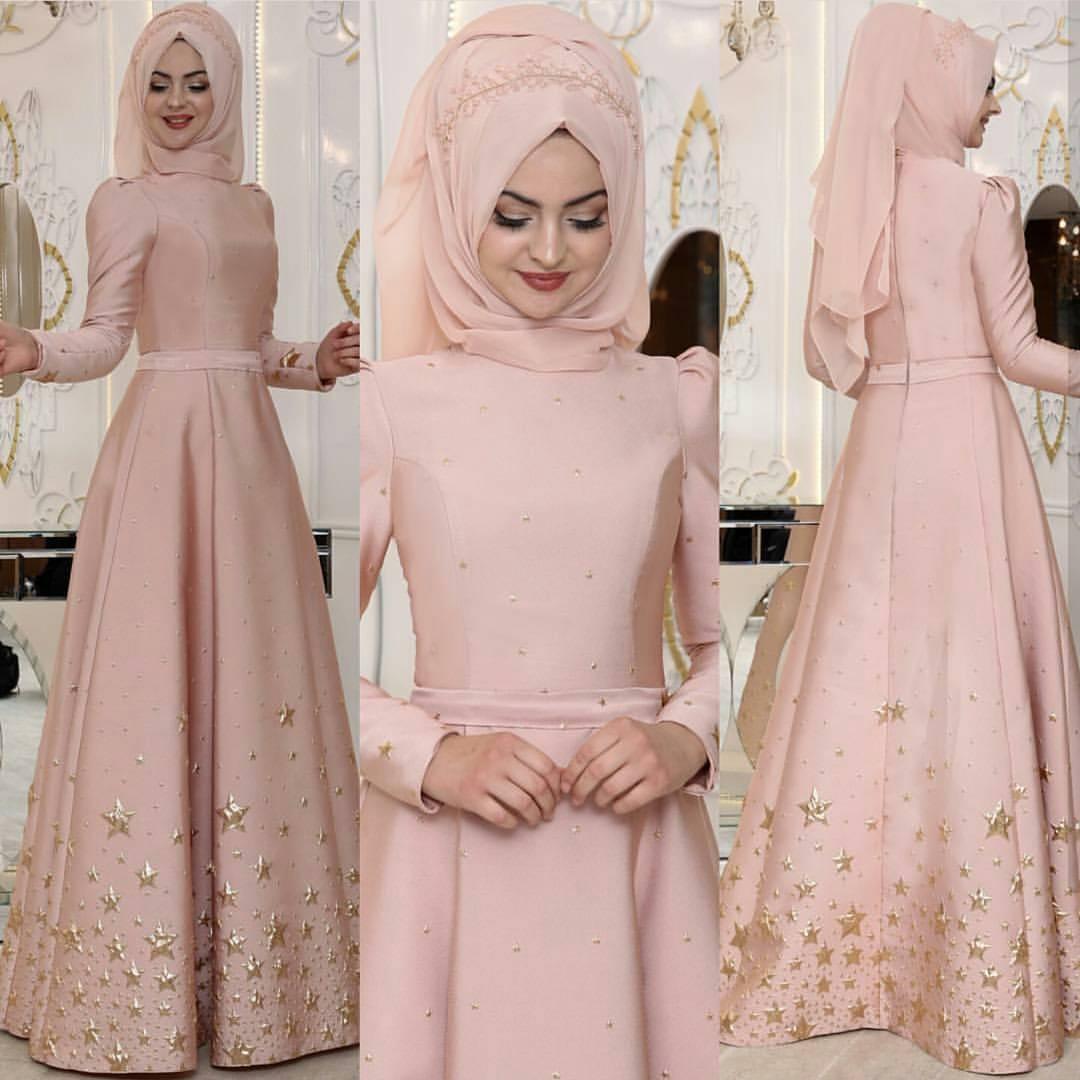 Pinarsems Abiye Modelleri 3 - En Şık Pınar Şems Tesettür Abiye Elbise Modelleri