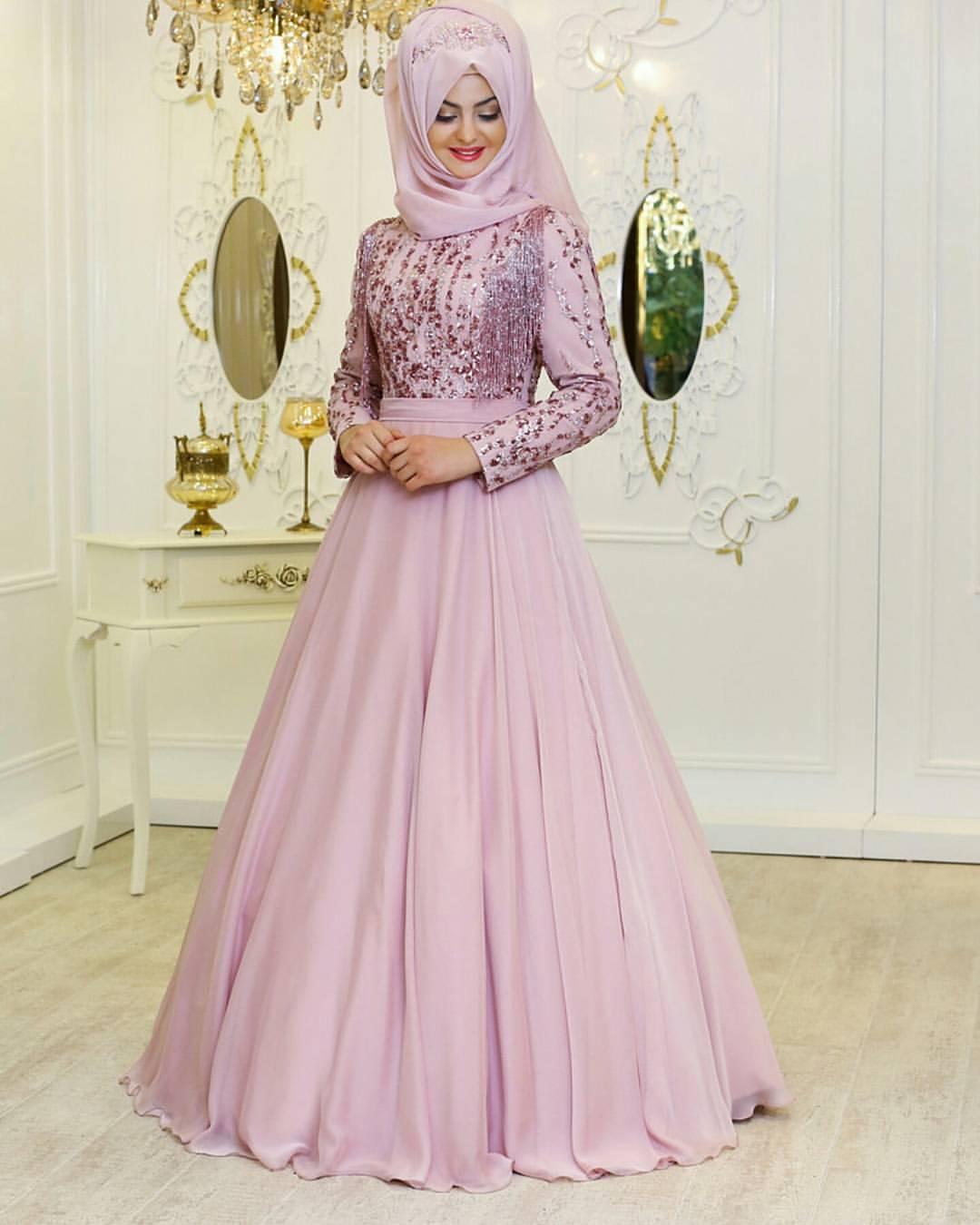 Pinarsems Abiye Modelleri 35 - En Şık Pınar Şems Tesettür Abiye Elbise Modelleri