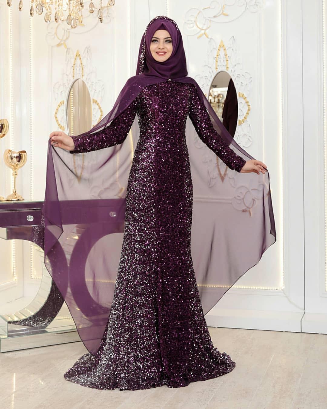 Pinarsems Abiye Modelleri 43 - En Şık Pınar Şems Tesettür Abiye Elbise Modelleri