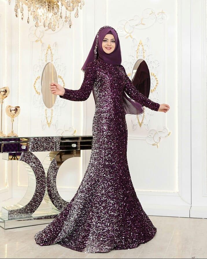 Pinarsems Abiye Modelleri 44 - Tesettür Abiye Elbise Mağazaları