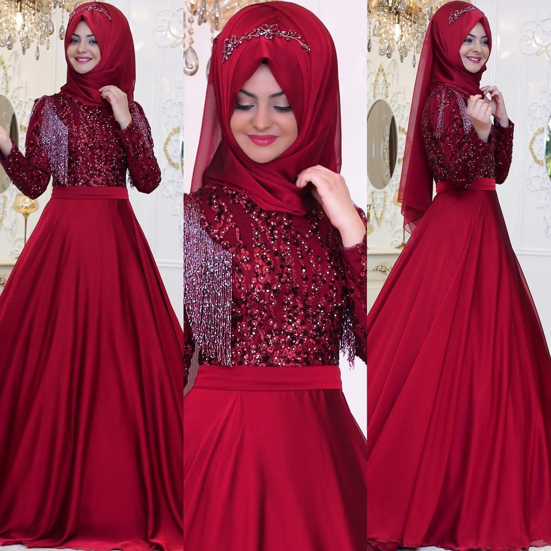 Tesettür Abiye Seçimi 1 - En Şık Pınar Şems Tesettür Abiye Elbise Modelleri