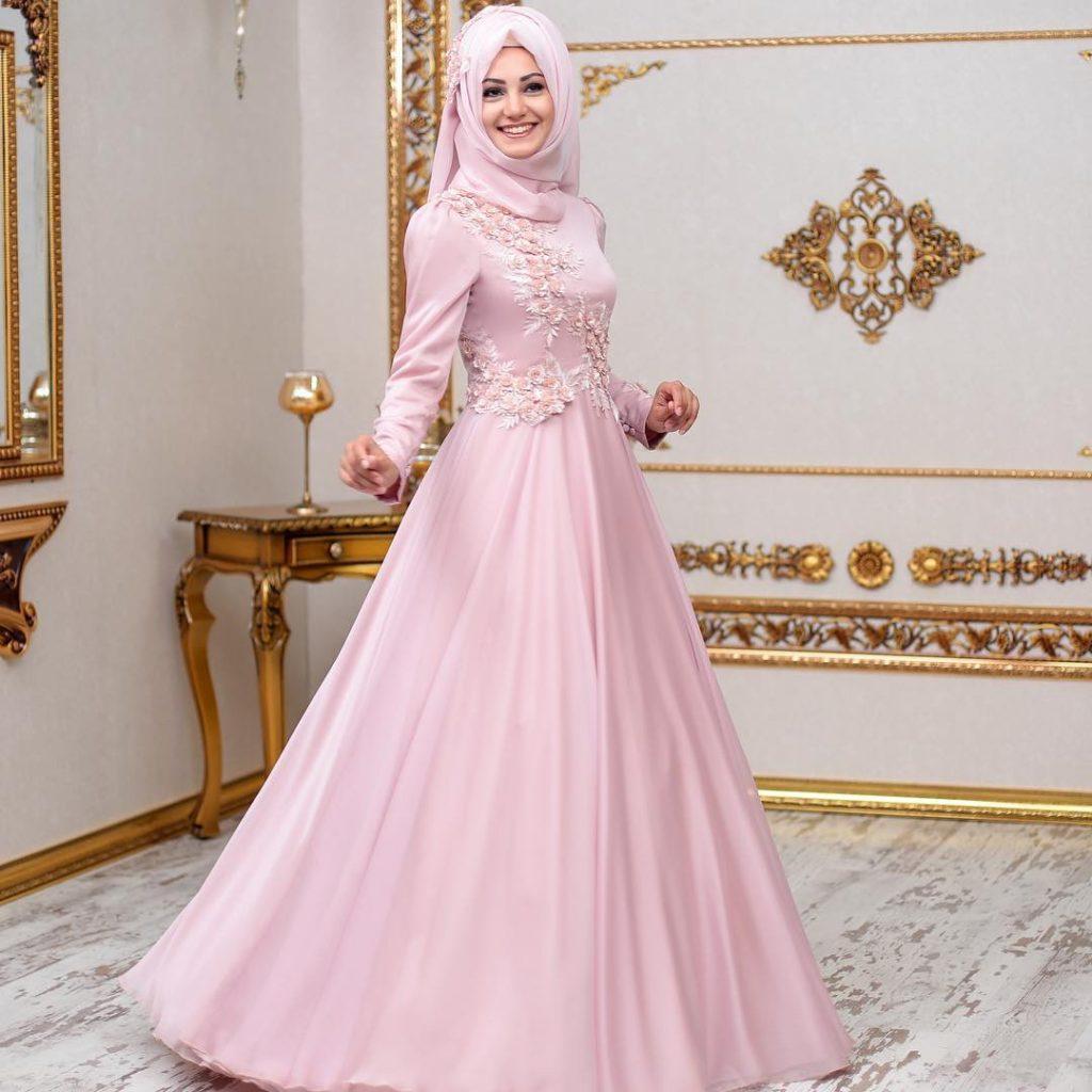 2018 An Nahar Tesettur Abiye Elbise Modelleri 1 1024x1024 - 2018 En Güzel Tesettür Abiye Elbiseleri