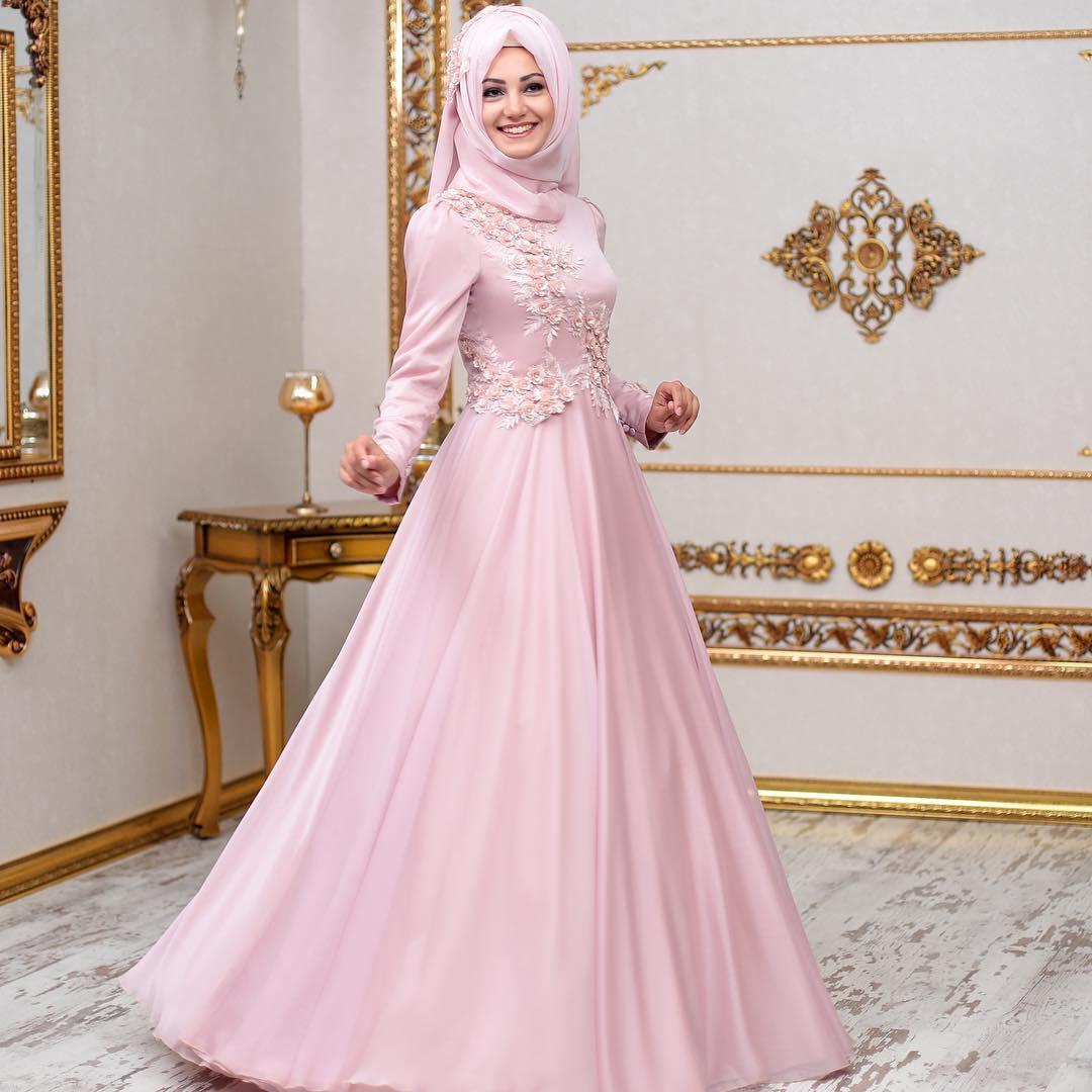 2018 An Nahar Tesettur Abiye Elbise Modelleri 1 - 2018 Annahar Abiye Elbise Modelleri