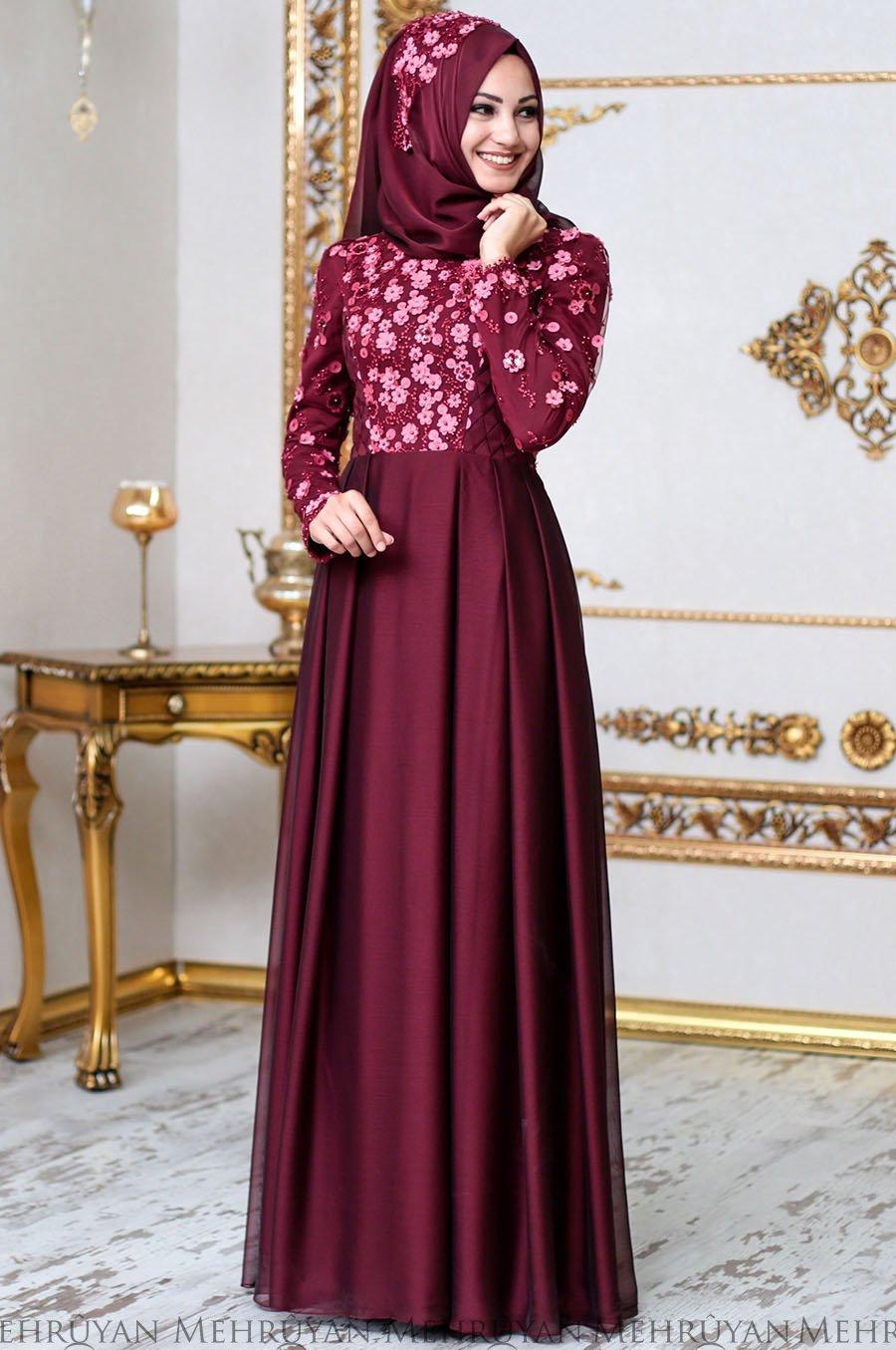 2018 An Nahar Tesettur Abiye Elbise Modelleri 2 - 2018 Sedanur Tesettür Abiye Elbise Modelleri