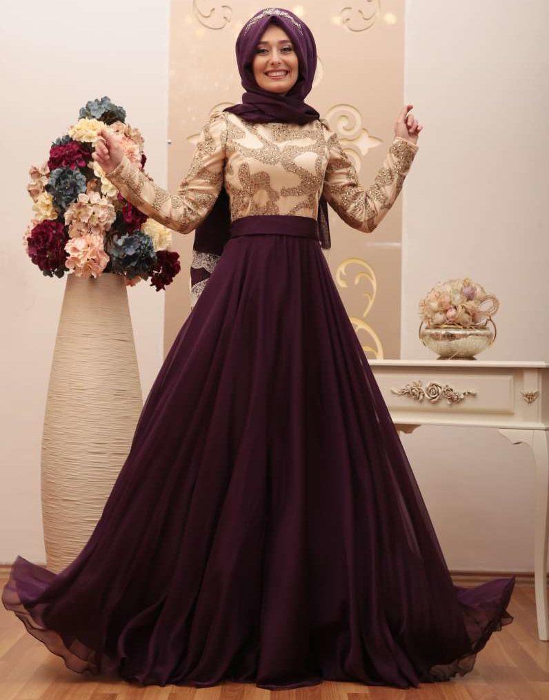 2018 An Nahar Tesettur Abiye Elbise Modelleri 6 e1521202486580 - 2018 En Güzel Tesettür Abiye Elbiseleri