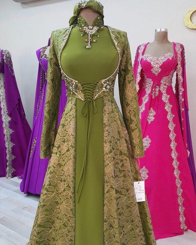 2018 Bindallı Elbise Modelleri 1 819x1024 - En Güzel Kına Abiye Elbise Trendleri