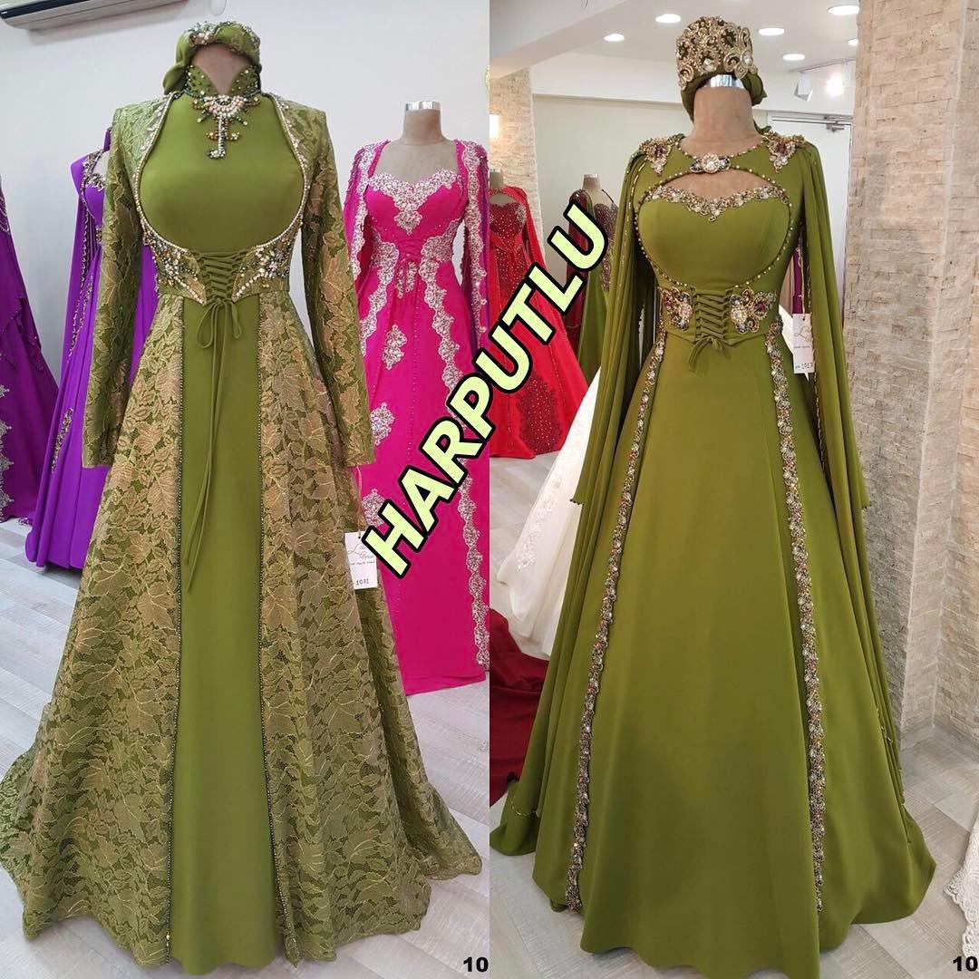 2018 Bindallı Elbise Modelleri - 2018 Bindallı Kına Elbisesi Modelleri