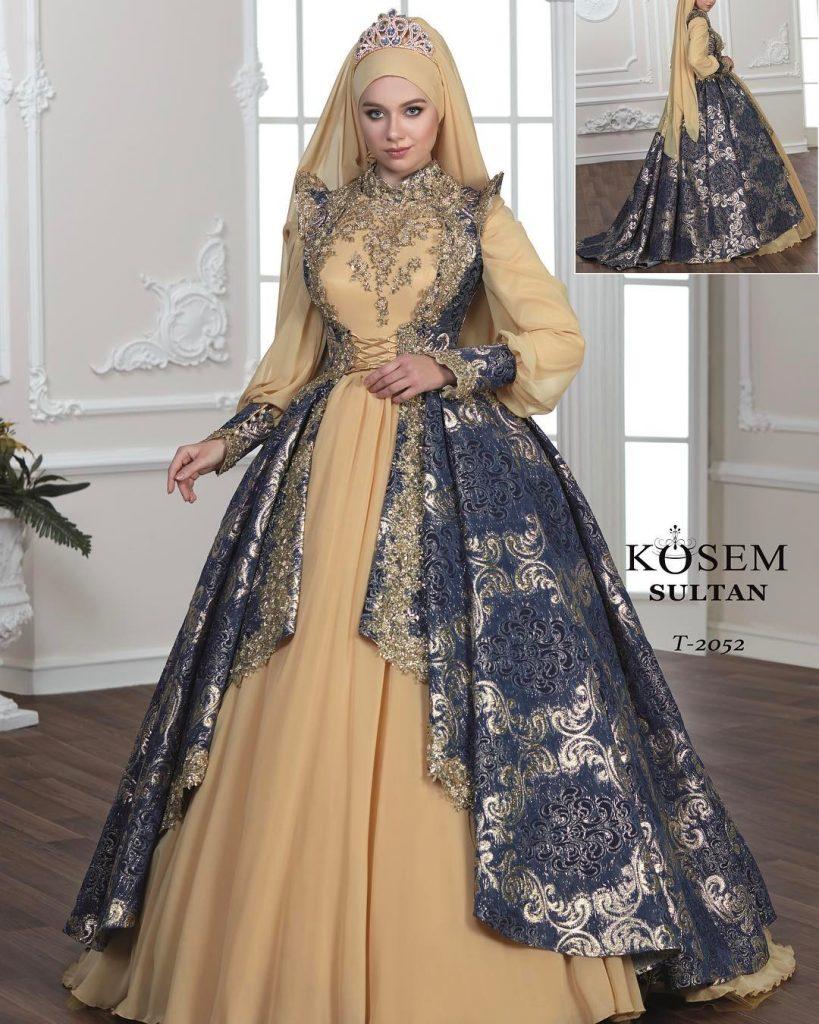 2018 Bindallı Modelleri 1 819x1024 - En Güzel Kına Abiye Elbise Trendleri