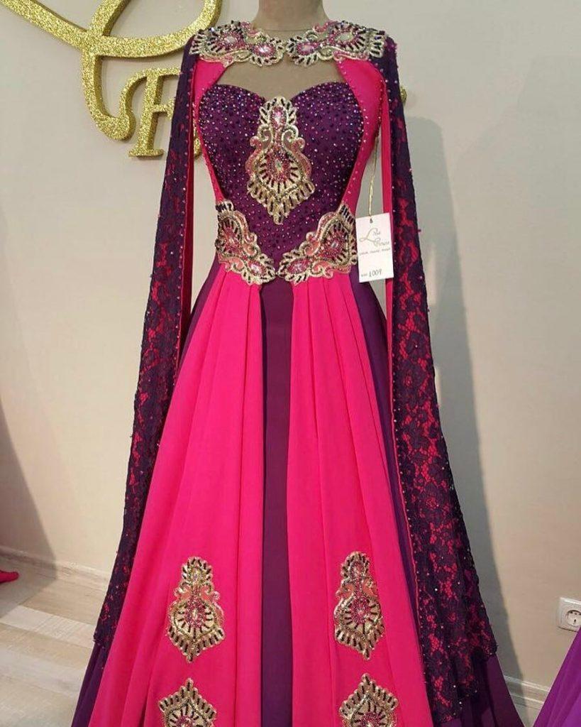 2018 Bindallı Modelleri 819x1024 - En Güzel Kına Abiye Elbise Trendleri