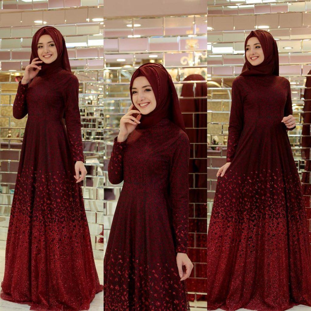 2018 En Guzel Tesettur Abiye Elbiseleri 6 1024x1024 - 2018 En Güzel Tesettür Abiye Elbiseleri