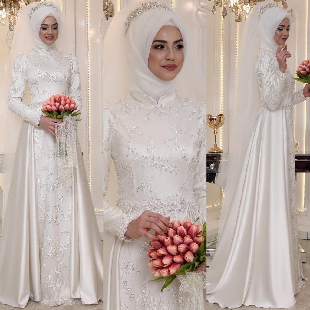 2018 En Guzel Tesettur Abiye Elbiseleri 8 1024x1024 - 2018 En Güzel Tesettür Abiye Elbiseleri