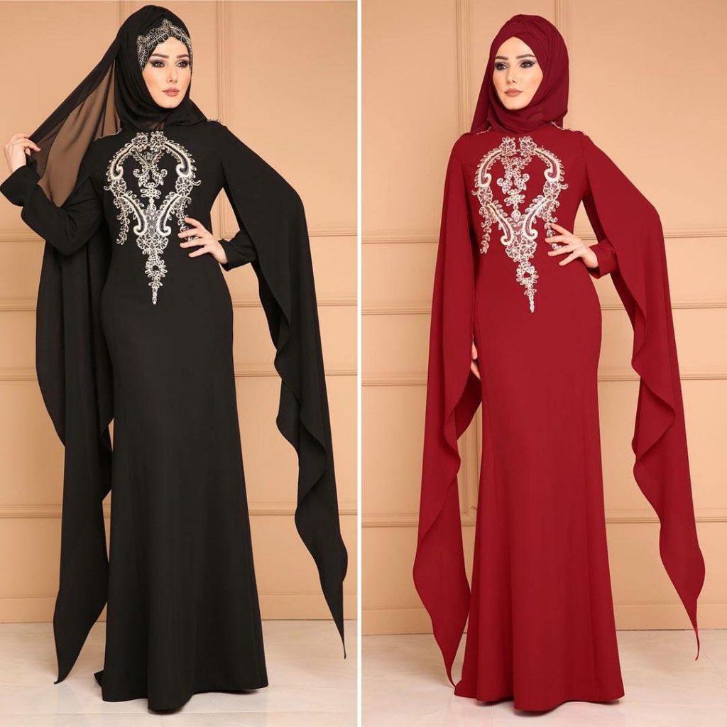 2018 En Guzel Tesettur Abiye Elbiseleri 9 1024x1024 - 2018 En Güzel Tesettür Abiye Elbiseleri