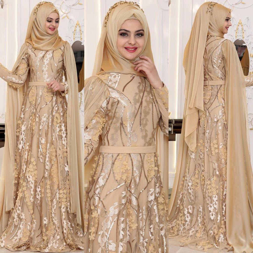 2018 En Sık Pınar Sems Tesettur Abiye Elbise Modelleri 2 1024x1024 - 2018 En Güzel Tesettür Abiye Elbiseleri