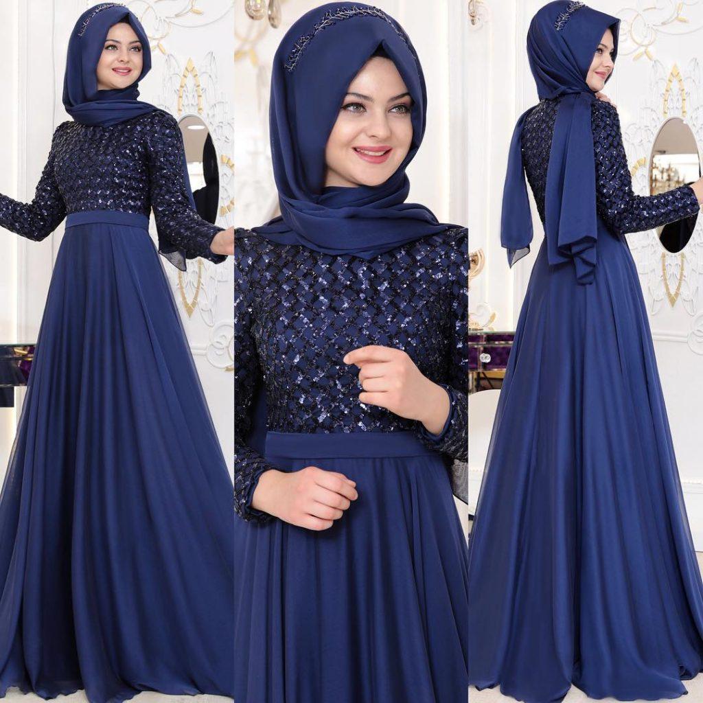 2018 En Sık Pınar Sems Tesettur Abiye Elbise Modelleri 3 1024x1024 - 2018 En Güzel Tesettür Abiye Elbiseleri