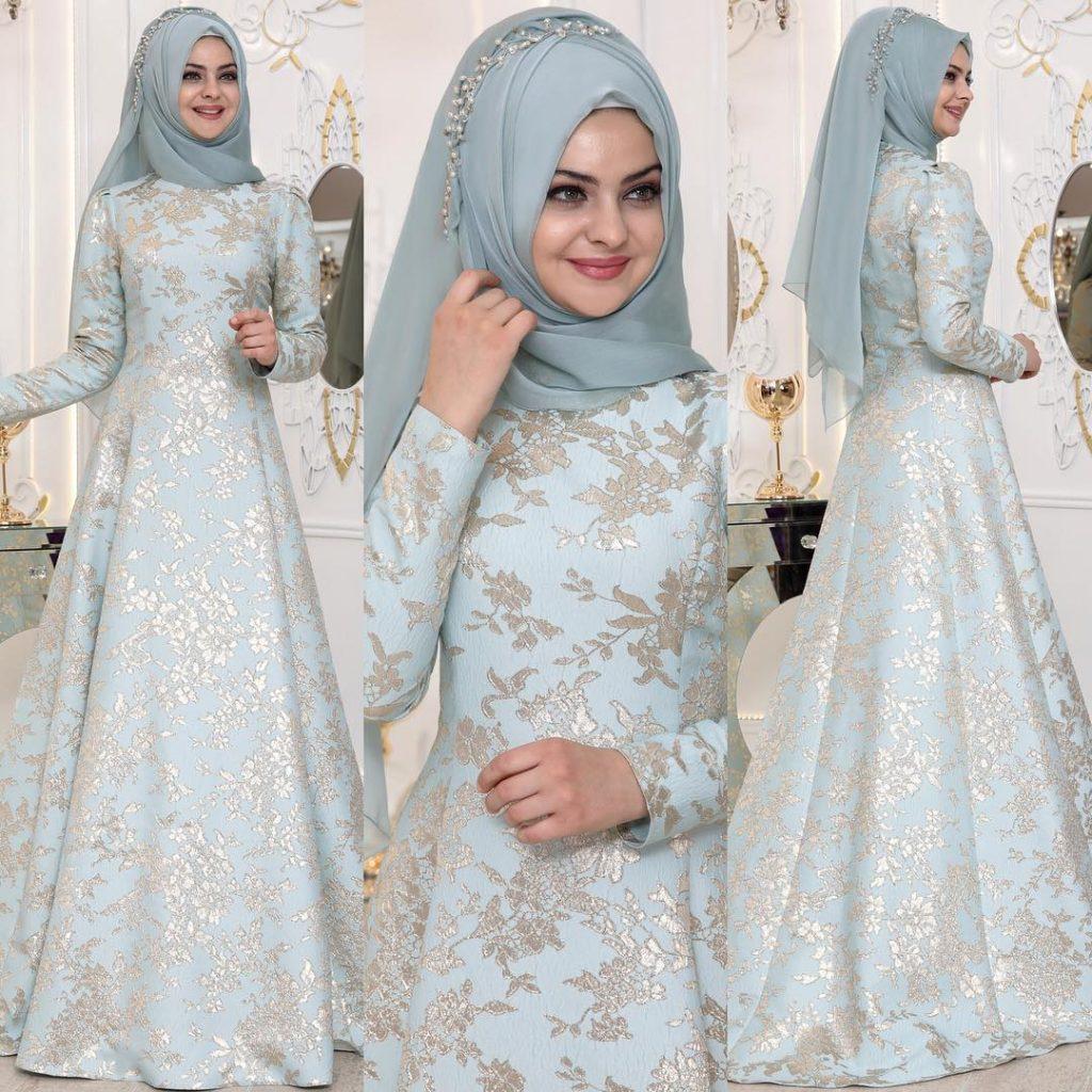 2018 En Sık Pınar Sems Tesettur Abiye Elbise Modelleri 5 1024x1024 - 2018 En Güzel Tesettür Abiye Elbiseleri
