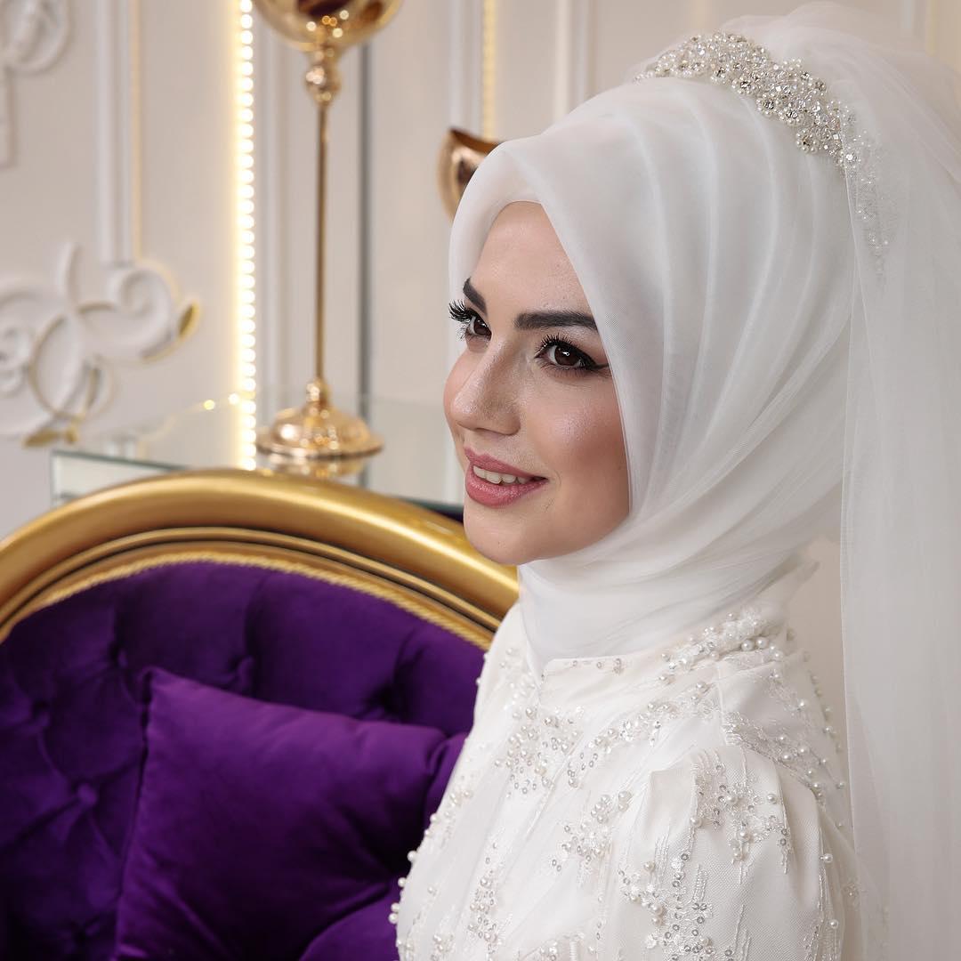 2018 En Sık Pınar Sems Tesettur Abiye Elbise Modelleri 6