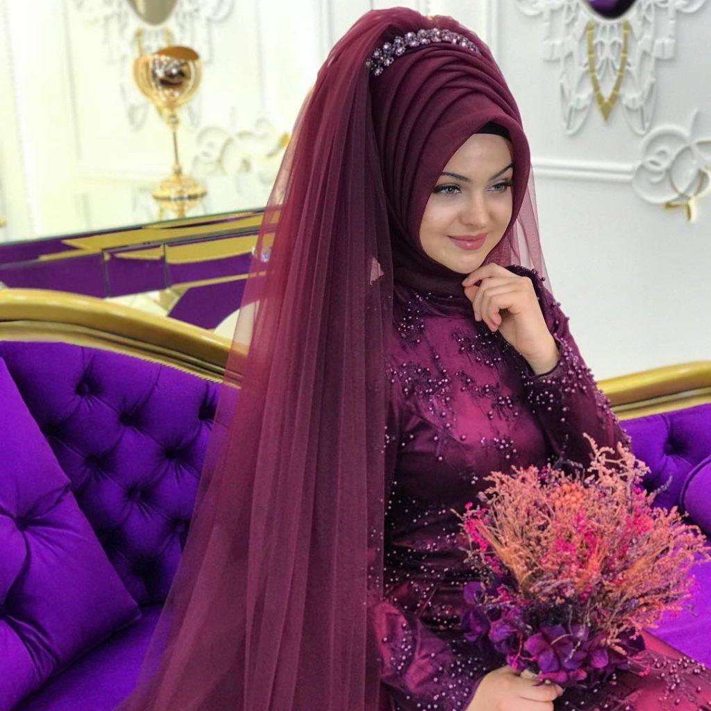 2018 En Sık Pınar Sems Tesettur Abiye Elbise Modelleri 7