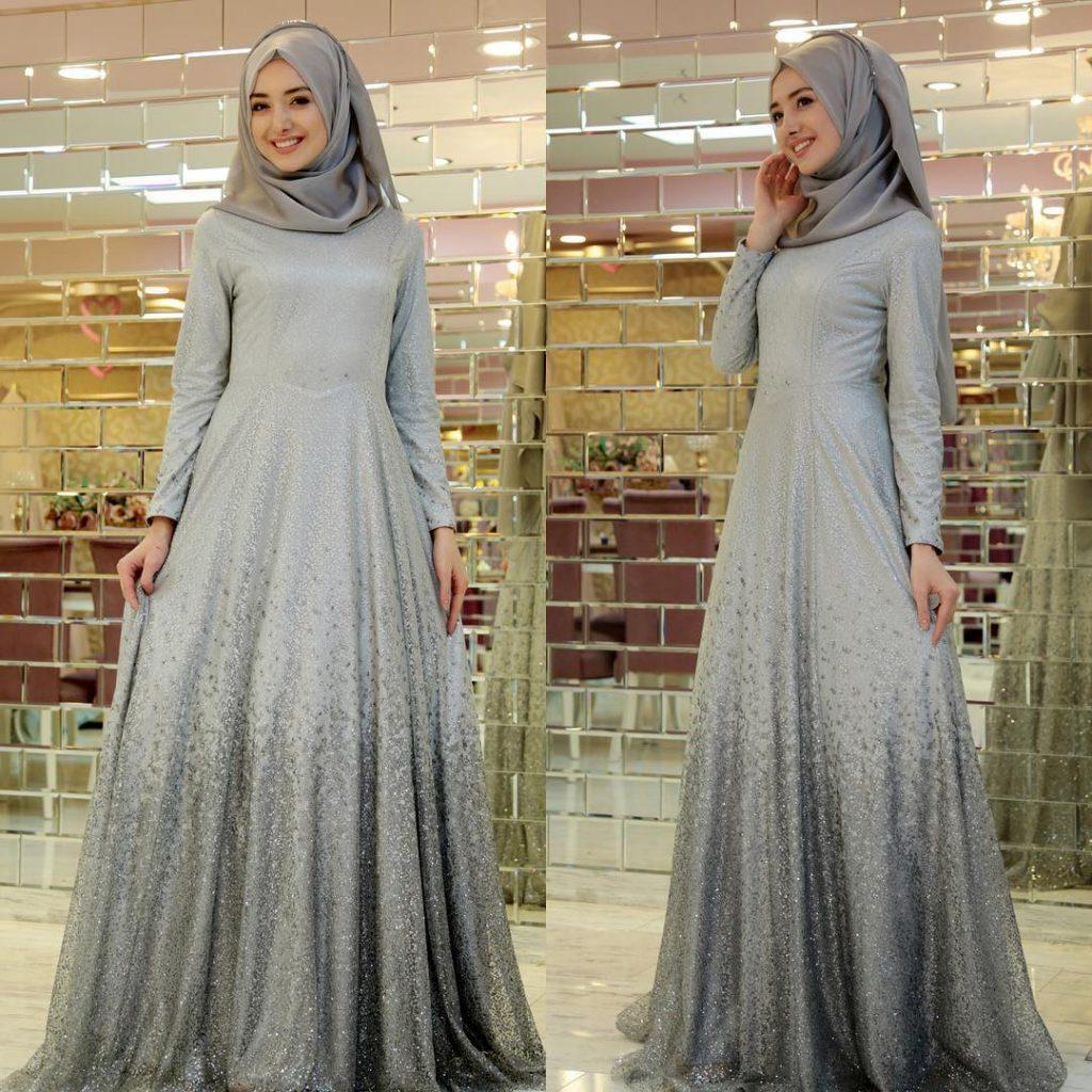 2018 Ganze Ozkul Tesettur Abiye Elbise Modelleri 1 1024x1024 - 2018 Gamze Özkul Abiye Elbise Modelleri
