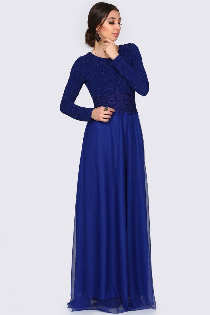 2018 Patirti.Com Tesettur Abiye Modelleri 2 683x1024 - 2018 En Güzel Tesettür Abiye Elbiseleri