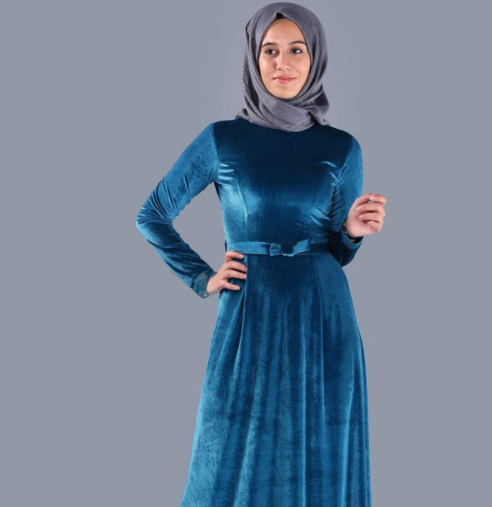 2018 Patirti.Com Tesettur Abiye Modelleri 6 e1520884754435 993x1024 - En Şık Patirti.com Tesettür Abiye Elbise Modelleri