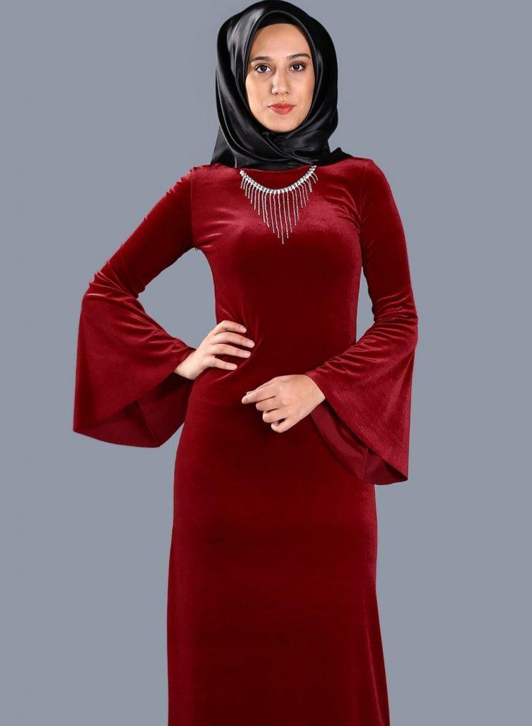 2018 Patirti.Com Tesettur Abiye Modelleri 8 e1520884929894 750x1024 - En Şık Patirti.com Tesettür Abiye Elbise Modelleri