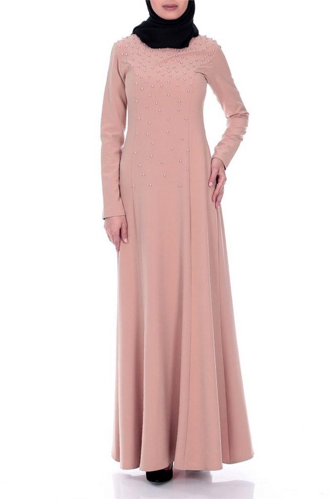 2018 Patirti.Com Tesettur Abiye Modelleri 9 683x1024 - 2018 En Güzel Tesettür Abiye Elbiseleri