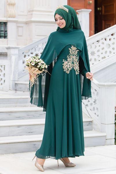 2018 Sedanur.com Tesettur Abiye Elbise Modelleri 5 - 2018 En Güzel Tesettür Abiye Elbiseleri