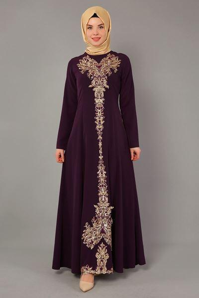 2018 Sedanur.com Tesettur Abiye Elbise Modelleri 8 - 2018 En Güzel Tesettür Abiye Elbiseleri