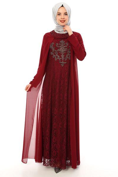 2018 Sedanur.com Tesettur Abiye Elbise Modelleri 9 - 2018 En Güzel Tesettür Abiye Elbiseleri