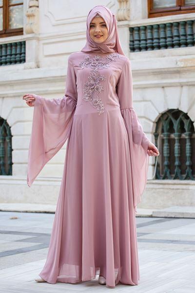 2018 Sedanur.com Tesettur Abiye Elbise Modelleri7  - 2018 En Güzel Tesettür Abiye Elbiseleri