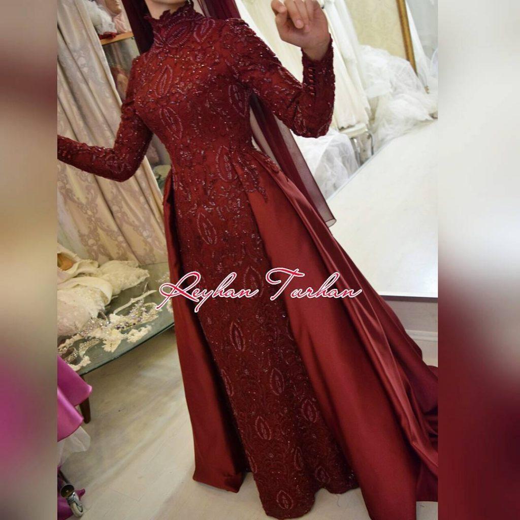 2018 Tesettur Nisanlik Modelleri 1 1024x1024 - 2018 En Güzel Tesettür Abiye Elbiseleri