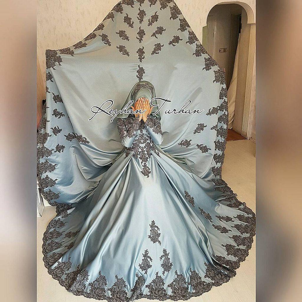 2018 Tesettur Nisanlik Modelleri 1024x1024 - 2018 En Güzel Tesettür Abiye Elbiseleri