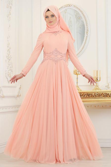 1819aa8ef4966 2018 Tesetturisland.com Abiye Elbise Modelleri - Tesettür Elbiseleri