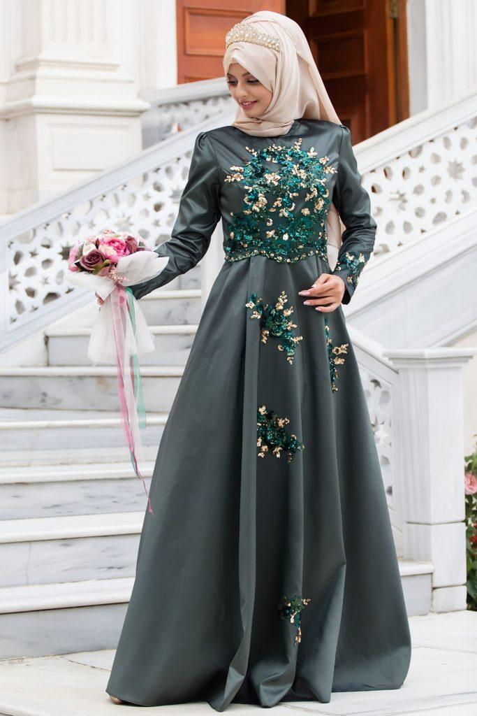 En Ucuz Sedanur Abiye Elbise Modelleri 3 683x1024 - 2018 En Ucuz Sedanur.com Tesettür Abiye Elbise Modelleri