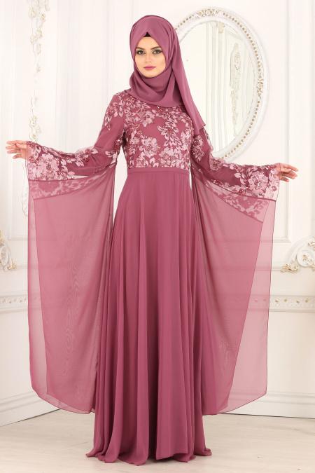 Mezuniyet Elbiseleri ve Fiyatlari payetli gül kurusu