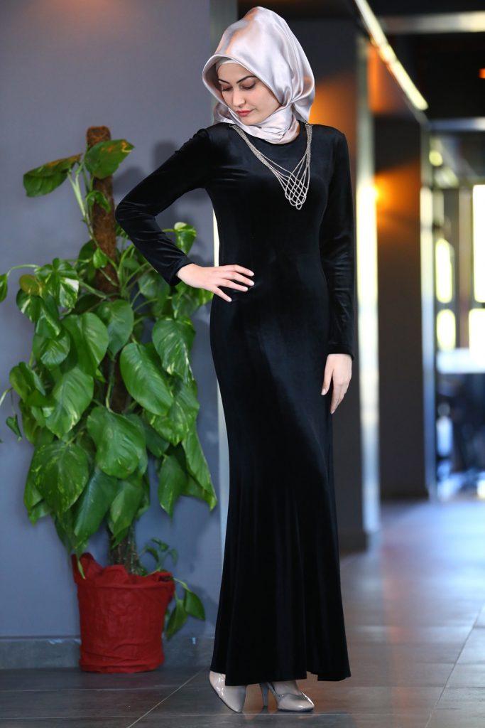 Patirti.com 1 Tl Urunleri Kolye Aksesuarli 683x1024 - En Şık Patirti.com Tesettür Abiye Elbise Modelleri