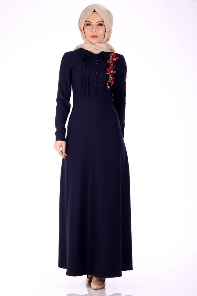 Patirti.com Tesettur Abiye 683x1024 - En Şık Patirti.com Tesettür Abiye Elbise Modelleri