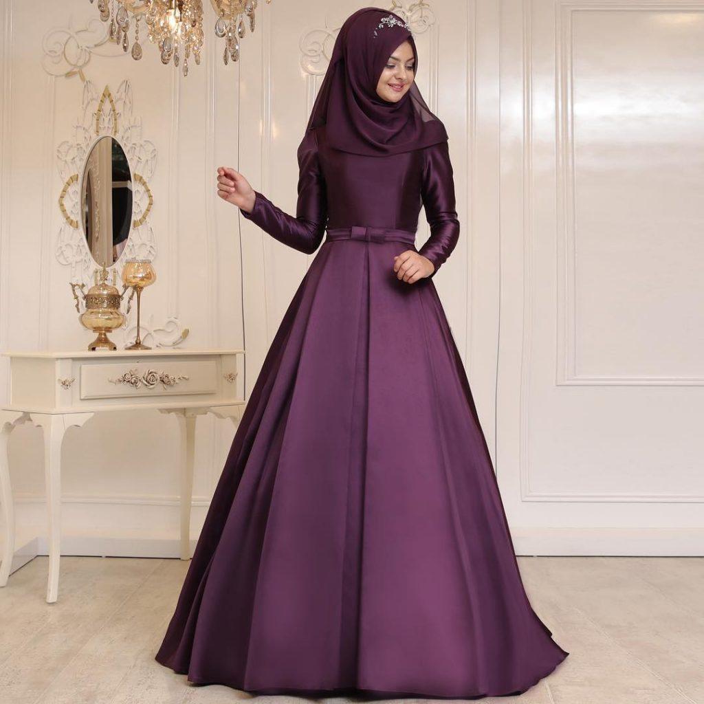 Sade Söz Elbisesi 1024x1024 - 2018 En Güzel Tesettür Abiye Elbiseleri
