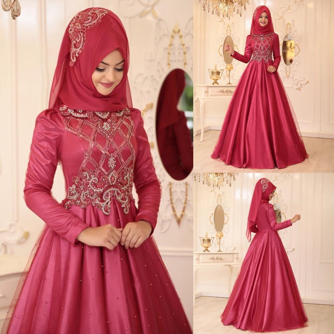 Tesettür Abiye Elbise Mağazaları 2 - En Şık Pınar Şems Tesettür Abiye Elbise Modelleri
