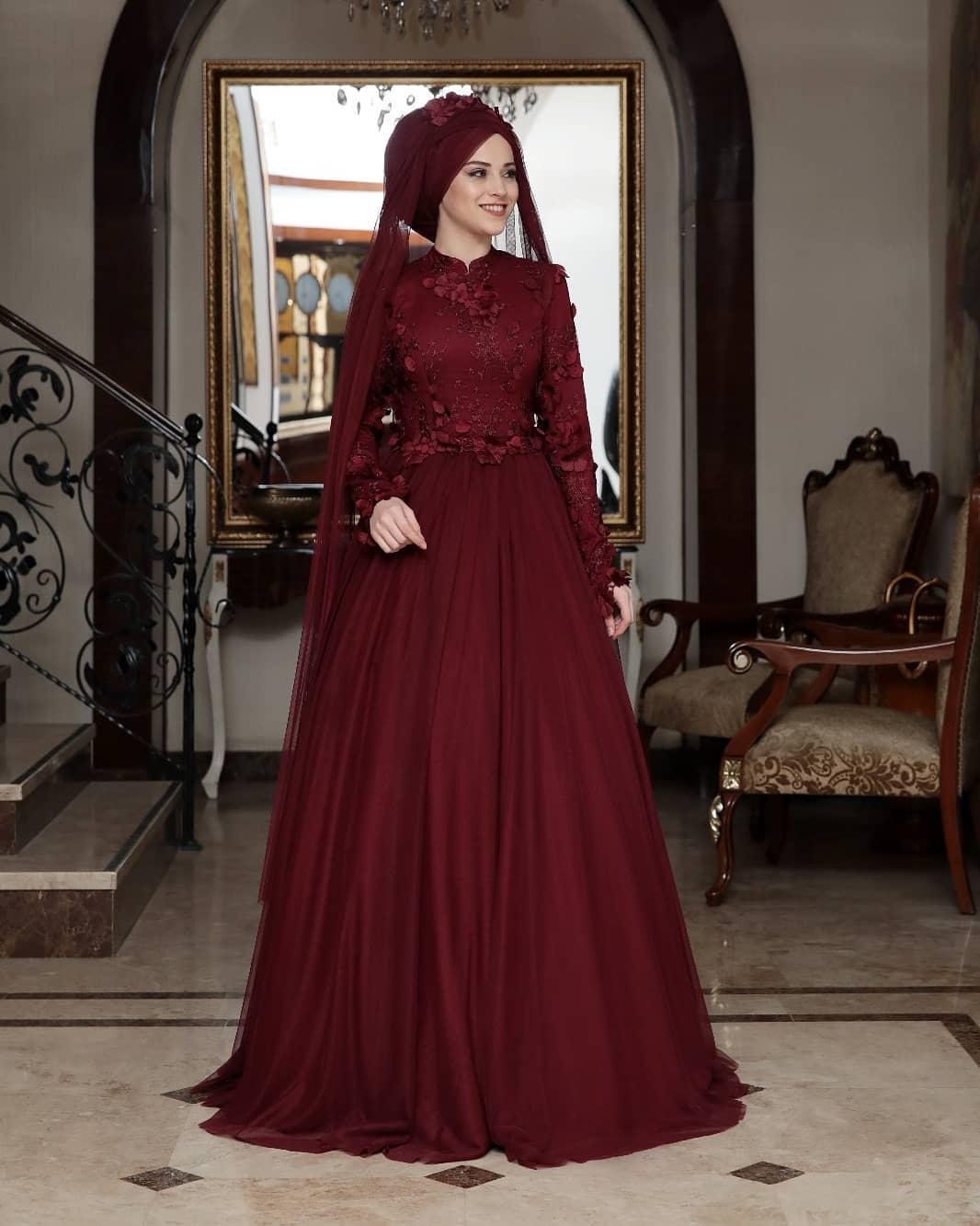 Tesettür Abiye Elbise Mağazaları 3 - 2018 En Şık Tesettürlü Abiye Elbise Modelleri