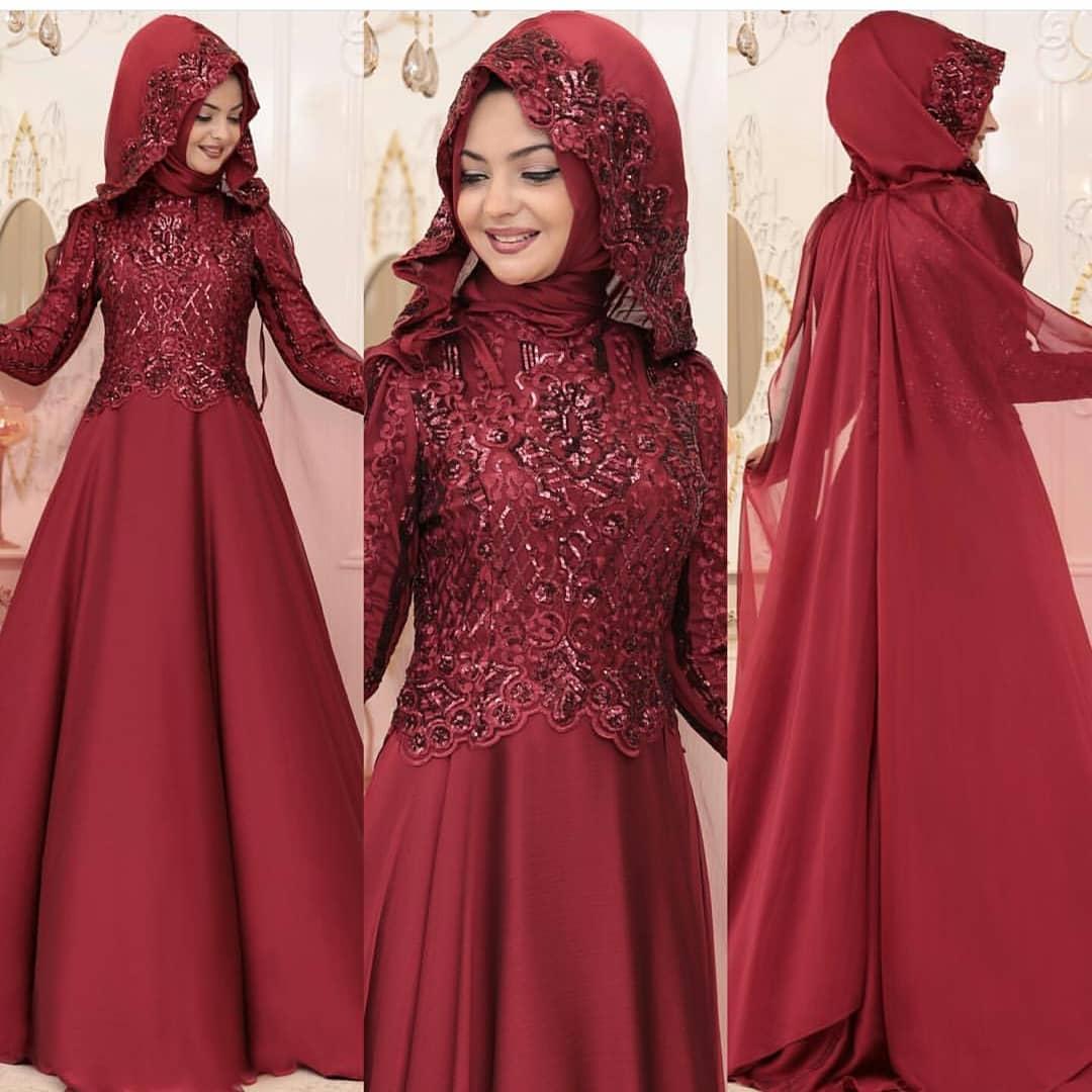 Tesettür Abiye Elbise Mağazaları - En Şık Pınar Şems Tesettür Abiye Elbise Modelleri