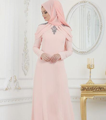 Tesettürlü Mezuniyet Elbiseleri 4 e1520108069222 - 2018 Minel Aşk Gamze Özkul Abiye Modelleri