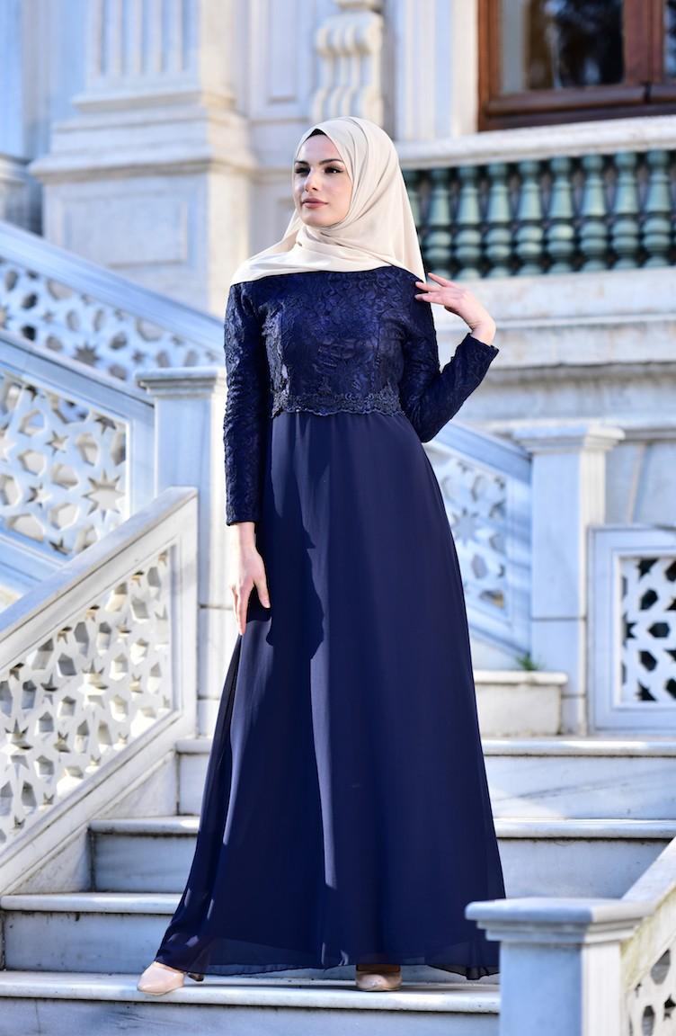 sefamerve tesettur abiye modelleri - 2018 Sefamerve Elbise Modelleri